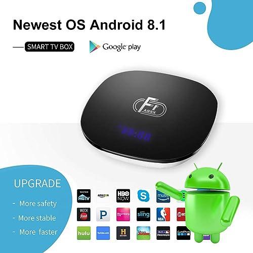 Sidiwen Android 8.1 TV Box F1 2GB RAM 16GB ROM Amlogic S905W Quad ...