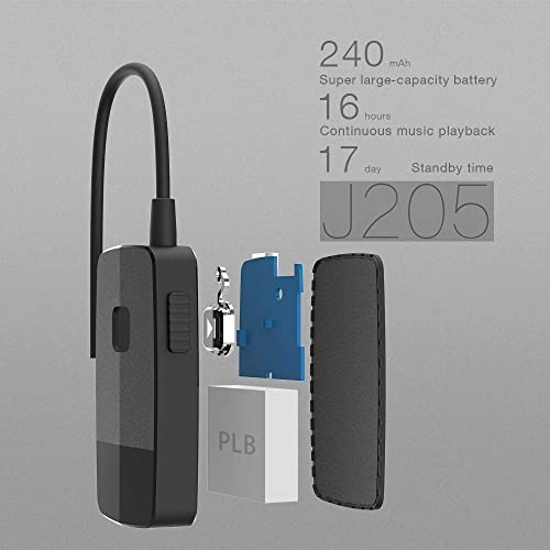 Golvery Bluetooth Receiver Advanced 4.2, A2DP Portable Wireless Audio Adapte