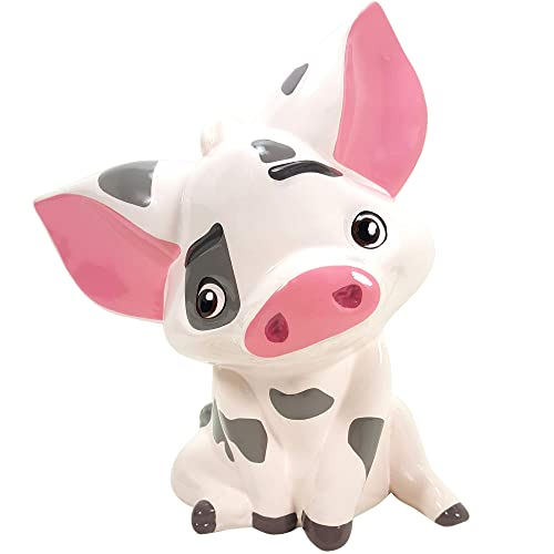 Resin Coin Bank Piggy Bank for Kids Girls Boys Christmas Birthday Gifts Room Decoration WELUK Cute Sheep Shaped Money Bank